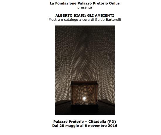 Gli Ambienti di Alberto Biasi a Cittadella