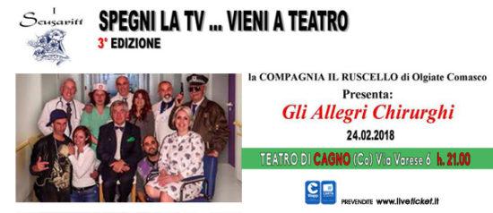 Gli allegri chirurghi all'Oratorio Pier Giorgio Frassati a Cagno