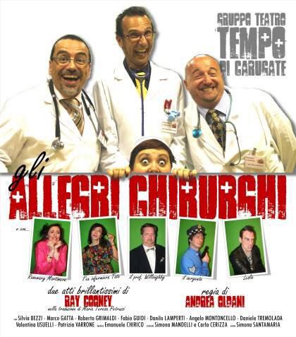 Gli allegri chirurghi al Teatro Sociale a Sannazzaro de' Burgondi