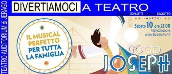 Go go Joseph all'Auditorium Jerago a Jerago con Orago