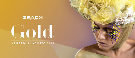 Gold al Beach Club Versilia