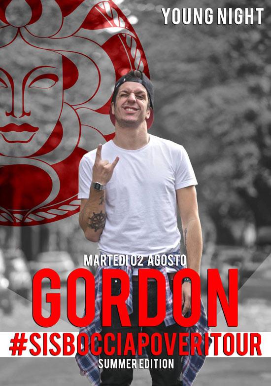 Gordon ai Bagni Medusa a San Benedetto del Tronto