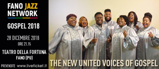 The New United Voices of Gospel al Teatro della Fortuna a Fano
