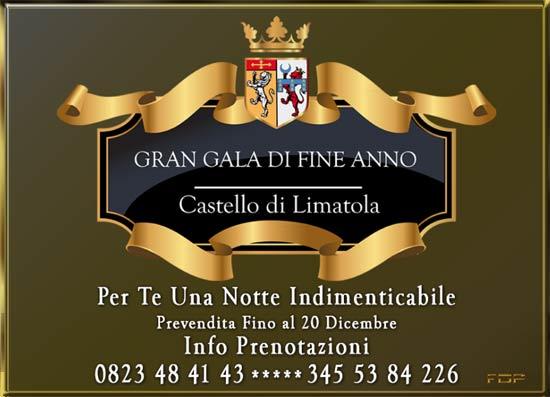 Gran Gala di Fine Anno al Castello di Limatola