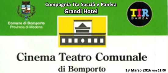 Grandi Hotel al Cinema Teatro Comunale di Bomporto