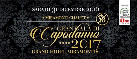 Gran Galà di Capodanno 2017 al Gran Hotel Miramonti di Passo del Tonale