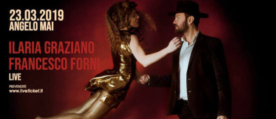 Ilaria Graziano e Francesco Forni live all'Angelo Mai di Roma