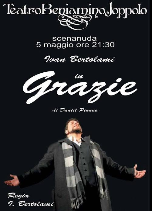 """Ivan Bertolami """"Grazie"""" al Teatro Beniamino Joppolo di Patti"""