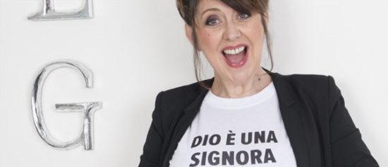 """Emanuela Grimalda """"Dio è una signora di mezza età"""" al Teatro Biblioteca Quarticciolo a Roma"""