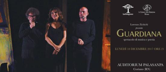 """Gianmarco Tognazzi e Francesca Merloni """"Guardiana"""" all'Auditorium Spazio Sanpa a Coriano"""