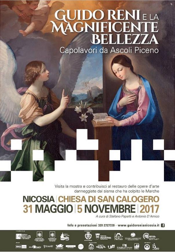 """""""Guido Reni e la Magnificente Bellezza - Capolavori da Ascoli Piceno"""" mostra a Nicosia"""