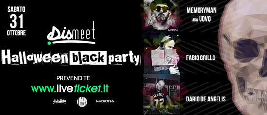Halloween Black Party - Dismeet al Meet Eventi di Atripalda