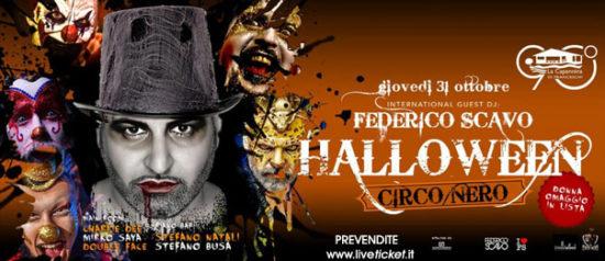 Halloween Circo Nero