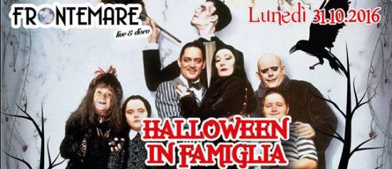 Halloween in famiglia al Ristorante Frontemare di Rimini