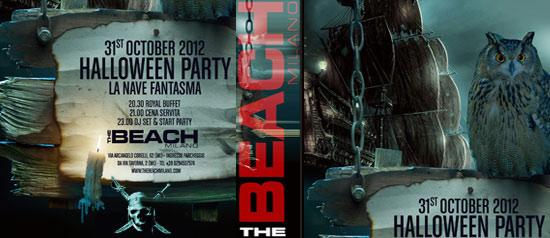 """Halloween party """"La nave fantasma"""" al The Beach Milano"""