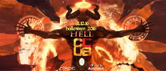 "Halloween 2016 ""Hell"" The Club Milano"