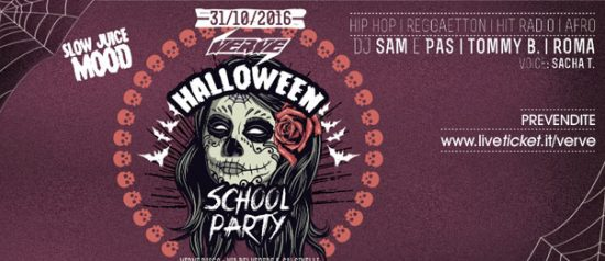 Halloween School Party al Verve di Calcinelli