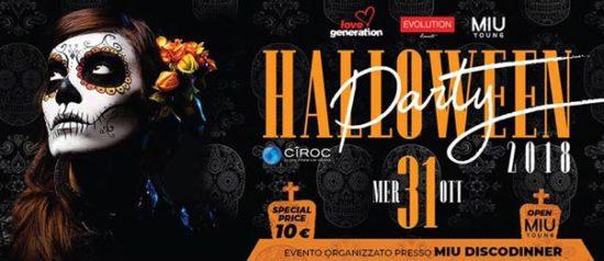 Halloween party - Opening Miu young al Miu Disco Dinner a Mondolfo