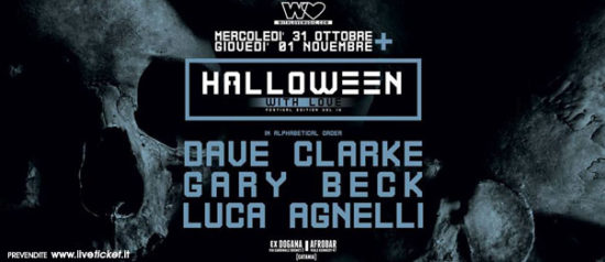 Halloween With Love Festival Edition Vol.IV al ECS Dogana Club a Catania