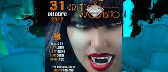 Halloween Party al Frutto Proibito a Piazza Armerina