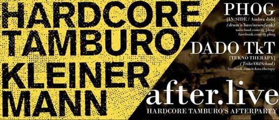"""""""Hardcore Tamburo"""" live all' Etnoblog a Trieste"""