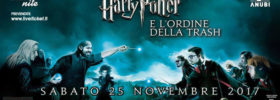 Harry Potter & l'ordine della Trash all'Ausonia Beach Club di Trieste