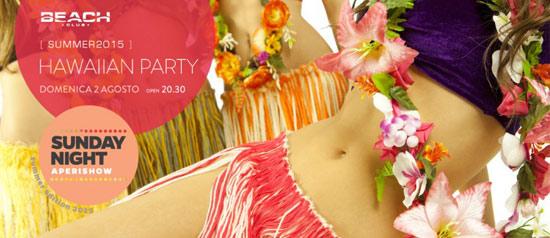 Hawaiian Party al Beach Club Versilia