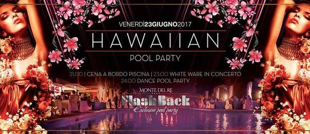 Flashback - Hawaiian pool party all'Hotel Monte del Re di Dozza