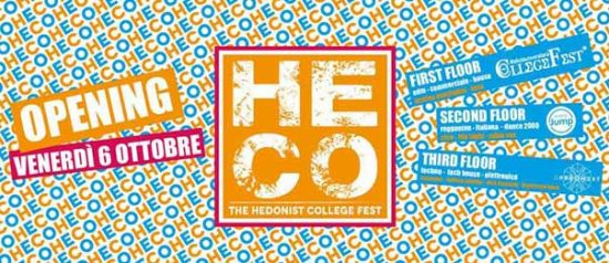 Heco opening all'Heco - The Hedonist College di Forlì