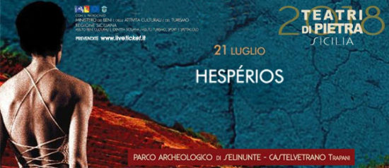 Hespérios al Parco Archeologico di Selinunte a Castelvetrano