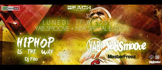 Hip Hop is the way al Beach Club Versilia