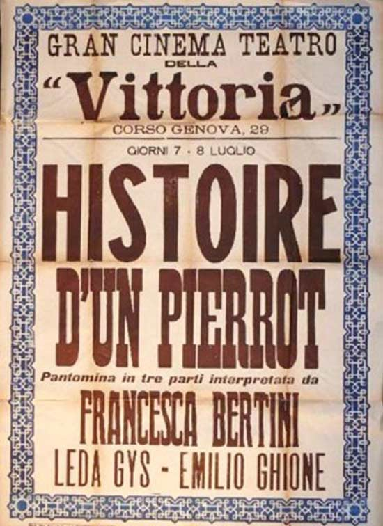 Histoire D'Un Pierrot al Teatro TaTà di Taranto