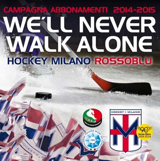 Hockey Milano Rossoblu Campionato Italiano di Serie A 2014-2015