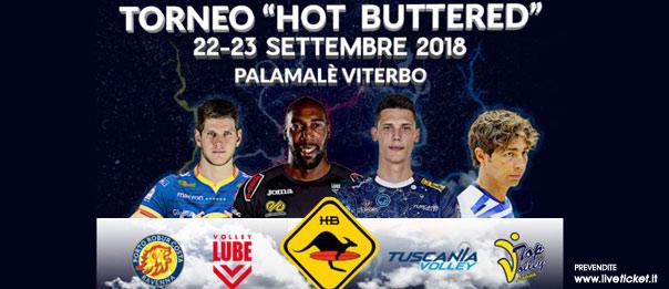 Torneo Hot Buttered al PalaMalè a Tuscania