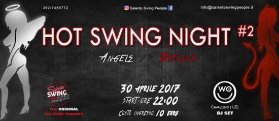 Hot swing night #2 - Angels vs Demons al Womb di Cavallino