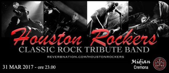 Houston Rockers al Midian Live Pub di Cremona