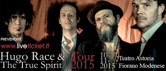 Ugo Race & The True Spirit al Teatro Astoria di Fiorano Modenese
