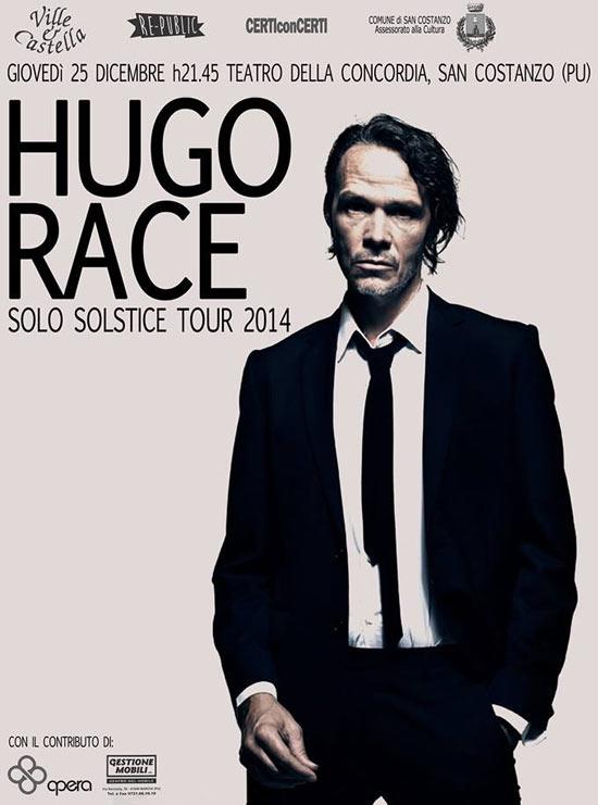 Hugo Race concerto San Costanzo