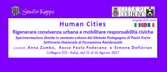 Human Cities al Villaggio Leumann a Collegno