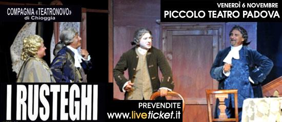 """""""I rusteghi"""" al Piccolo Teatro di Padova"""