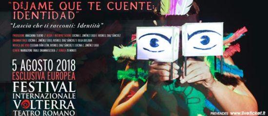Dejame que te cuente: Identidad al Teatro Romano a Volterra
