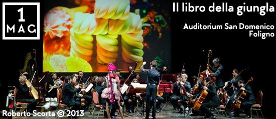 Il libro della giungla all'Auditorium San Domenico di Foligno