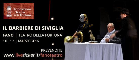 """""""Il barbiere di Siviglia"""" al Teatro della Fortuna di Fano"""