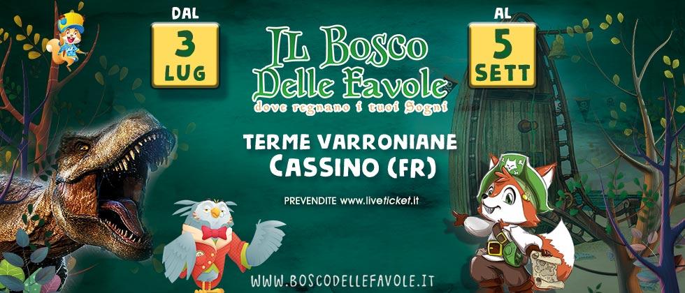 IL BOSCO DELLE FAVOLE a Cassino