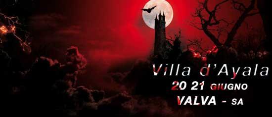 """""""Incubo di una notte di Mezza Estate"""" alla Villa d'Ayala di Valva"""
