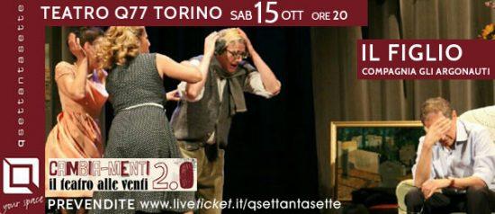 Il figlio al Q77 di Torino