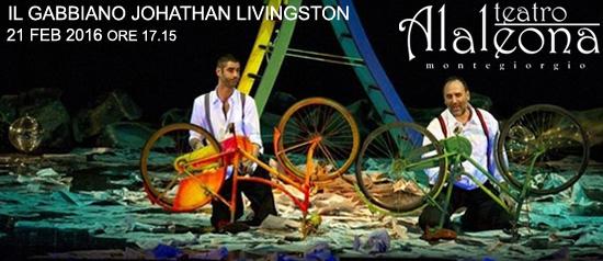 """""""Il gabbiano Johathan Livingston"""" al Teatro Alaleona di Montegiorgio"""