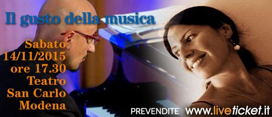 Il gusto della musica al Teatro San Carlo di Modena