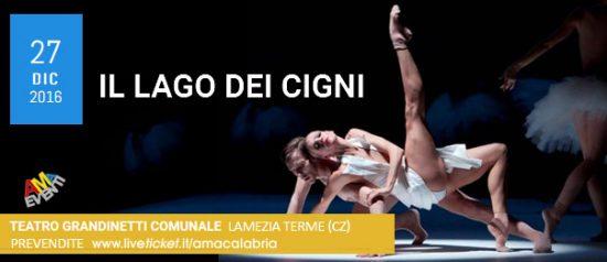 """""""Il lago dei cigni"""" al Teatro Comunale Grandinetti di Lamezia Terme"""