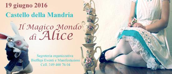 Il magico mondo di Alice alla Venaria Reale di Torino